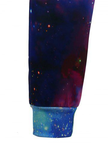 Discount Animal Print Galaxy Jogger Pants - S COLORMIX Mobile