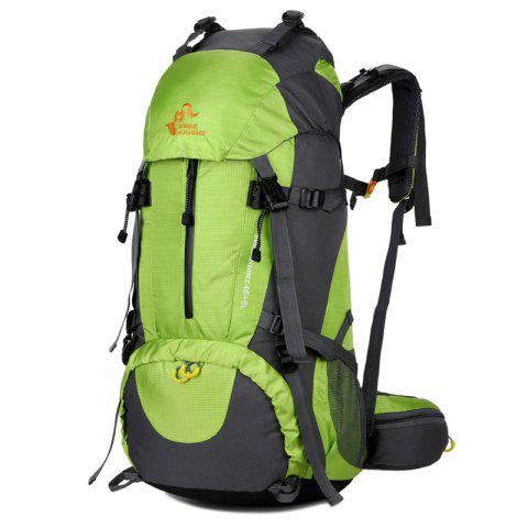 FreeKnight Nylon 50L Alpinisme Sac à dos avec Rain Cover Vert