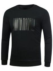 Bar Code Crew Neck T-Shirt