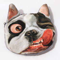 3D Dog Print Funny Coin Purse