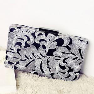 Embrooidery Evening Clutch Bag