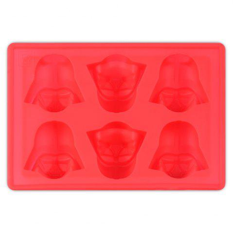 Fashion Cute Star Wars Darth Vader Mold Multi-Function Silicon Ice Cube Tray