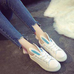 Rabbit Ears Color Block Athletic Shoes