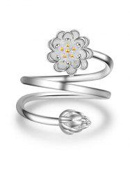 Multilayered Flower Ring