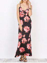 Floral Maxi Backless Slip Summer Dress