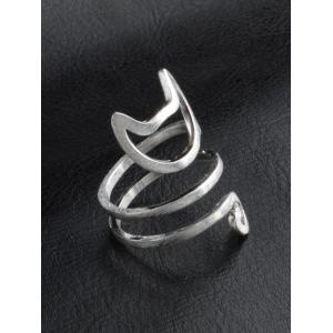 Cute Kitten Finger Ring -