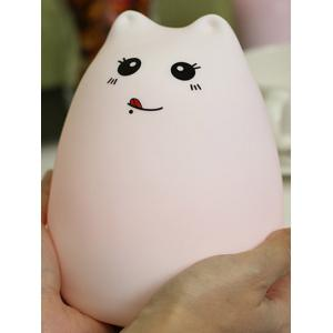 Remote Control LED Cartoon Color Changing Night Light - CRYSTAL CREAM PATTERN B
