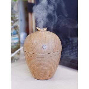 Ultrasonic Aroma Woodgrain Mist Maker Air Humidifier - EARTHY