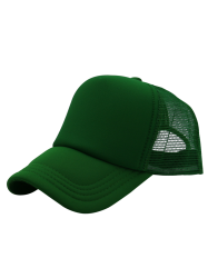 SunScreen Breathable Mesh Panel Baseball Hat - GRASS GREEN