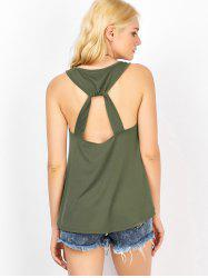 Casual Cut Out Tank Top
