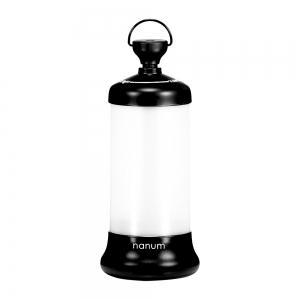 Outdoor USB Rechargeable Telescopic Lamp LED Night Light - BLACK