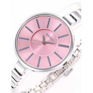 SOUSOU Alloy Strap Analog Wrist Watch -