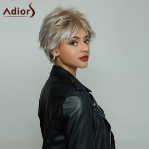 Fluffy Fashion Short Synthetic Wigs For Women - OMBRE