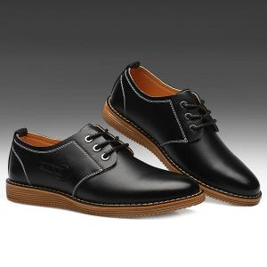Tie Up Stitching Formal Shoes -