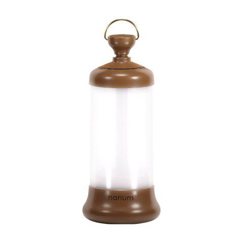 Chic Outdoor USB Rechargeable Telescopic Lamp LED Night Light - COFFEE  Mobile