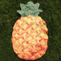 Pineapple Shape Polyster Beach Throw -