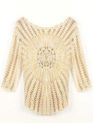 Crochet Knit Openwork Cover-Up