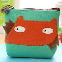 Cartoon Patch PU Leather Coin Purse