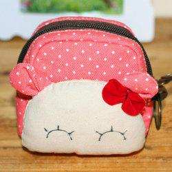 Polka Dot Cartoon Coin Purse