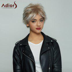 Fluffy Fashion Short Synthetic Wigs For Women - OMBRE 1211#