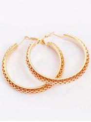 Tiny Honeycomb Hoop Earrings