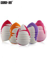 5 Pcs Multifunction Water Swellable Makeup Sponges - COLORMIX