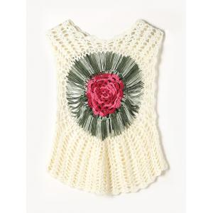 Sleeveless Crochet Cover-Up