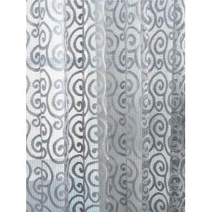 1Pcs Jacquard Home Decor Voile Shading Curtain -