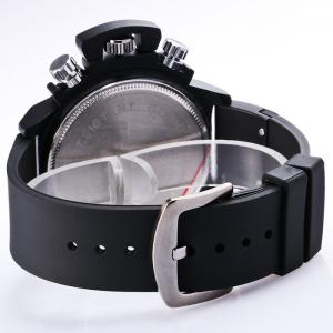 BRG STOCK Funny Silicone Strap Date Watch - WHITE AND BLACK