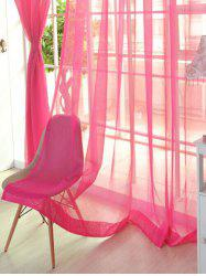 Sheer Window Tulle Fabric Curtain For Living Room -