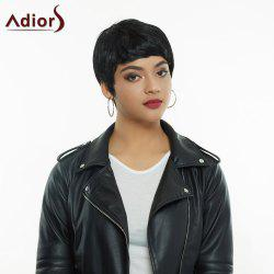 Stylish High Temperature Fiber Ultrashort Women's Wig