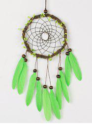 DIY Dreamcatcher Feather Aeolian Bells Hanging Decoration
