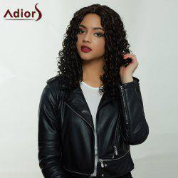 Adiors Hair Long Middle Part Afro Curly Synthetic Wig