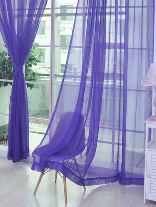 New Sheer Window Tulle Fabric Curtain For Living Room