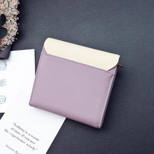 Fringed Colour Block Mini Wallet -