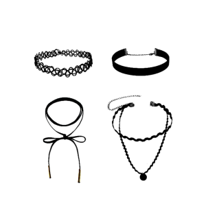 Artificial Leather Velvet Tattoo Choker Necklaces