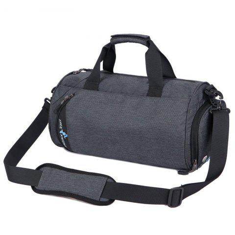 Freeknight Multipurpose Cylinder Water Resistance Gym Bag - Deep Gray