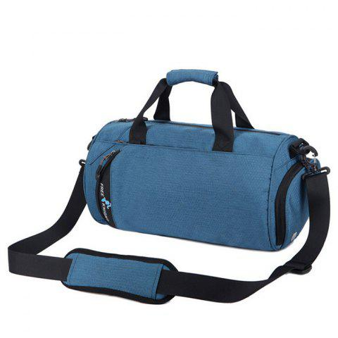 Outfits Freeknight Multipurpose Cylinder Water Resistance Gym Bag - LIGHT BLUE  Mobile