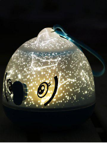 Hot Kissing Gourami LED Constellation Projection Night Light BLUE