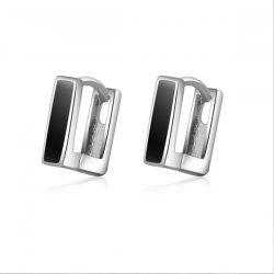 Rectangle Alloy Earrings