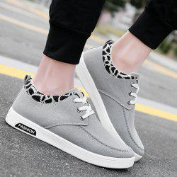 Canvas Tie Up Casual Shoes