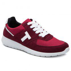 Suede Breathable Athletic Shoes