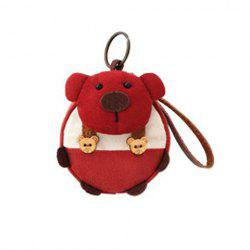 Cartoon Bear Wristlet Coin Purse