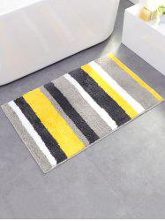 Eco-Friendly Stripe Soft Absorbent Bath Rug