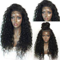 Fluffy Curly Long Lace Frontal Synthetic Wig