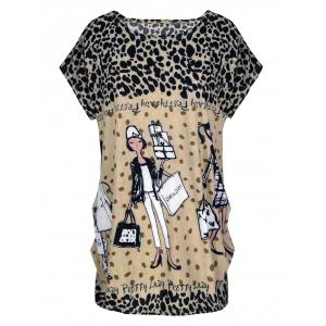 Short Sleeve Allover Print T-Shirt