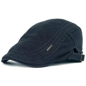 UV Protection Jeff Cap with Alloy Label - Deep Gray