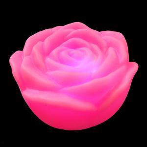 Colorful LED Rose Flower Night Light