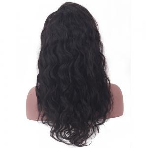 Long Slightly Curly Lace Front Human Hair Wig -