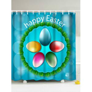 Happy Easter Polyester Shower Curtain - Fusion - 180*200cm